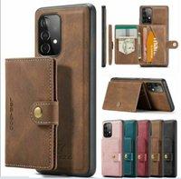 럭셔리 제이브 가죽 PU 지갑 케이스 Detachable Magnetic Card 홀더 아이폰 12 11 Pro 7 8Plus