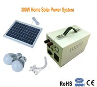 Novely Lighting 300W Home Solar Power Kleinschalig Off Rasterysteem Geïntegreerde Machine-omvormer