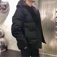 Новый стиль зимних мужчин Homme Winter Jassen Chaqueas Parka Верхняя одежда Canada Cooded FunRure Manteau Down kingets Part Hiver Doudoune