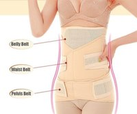 Altre forniture di maternità 3in1 Belyabdomenpeis Postpartum Belt Body Recovery Shapewear Belly Slim Cinchers Trainer in vita traspirante Co wx8co