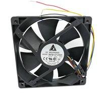 AFB1212SH 12025 12V 0.80A 4Wire 120 * 120 * 25mm Fan de Coolig