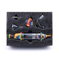 Palheta da Dab do coletor de silicone com acessórios do e-cigarro do anexo de vidro