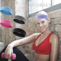 Sports Sweat Absorption Running Anti Slippery Fitness Yoga Basketball Hairband Headband