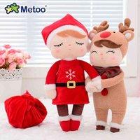 Metoo-Kaninchen-Angela-Weihnachts-Kinder-Plüsch-Spielzeug-Geschenk-Verzierungs-Puppe