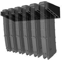 Solid ABS 표준 PMAG 벽 마운트, MAG 홀더, 홈 매거진 저장 랙, 5.56 .223 AR