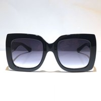0083 Popular Women fashion Sunglass Square Summer Style Frame Top Quality UV Protection 0083S sunglass Mixed Color Come With box