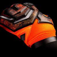 Новый дизайн Профессиональный футбол Воротарь Главы Латексные Защиты Палец Дети Взрослые Футбольные Вратающие Перчатки 005