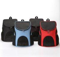 ناقلات الحيوانات الأليفة القط في الهواء الطلق السفر الناقل packbag المحمولة سستة شبكة ظهره تنفس أكياس الكلب اللوازم 7nizd jwadm