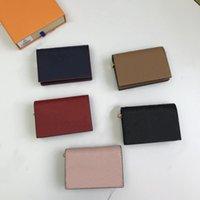 2021 Forma Flores Luxurys Designer Bags Homens Saco de Couro Mulheres Alta Qualidade Letras Clássicas Chave Coin Bolsa Cartão Titular M80151 M80152