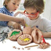 Jurassic World Dinosaur Egg Kids Toys Tyrannosaurus Dinosaur Baby Toys Model Decoration Toys For Children Scientific Mining