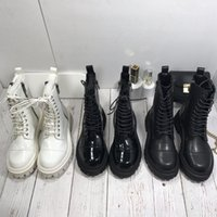 Desert Boot Women Designer Platform Boots Real Leather fabric lace up Chelsea Spaceship Ankle thick Heel Winter Knight Work Safety Motorcycle Rain Fashion Snow
