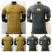 Giocatore Versione 21 22 Egitto Jersey di calcio 2021 2022 National Team Home Away M.salah Football Men Kit Top Maillot de Foot Salah # 10 Camisetas Futbol