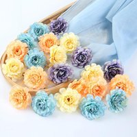 Decorative Flowers & Wreaths Simulation Hydrangea Bouquets Artificial Flower Wall Fake Home Decoration Handmade
