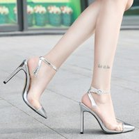 Dress Shoes Heels Women Pumps Female High Fashion Buckle Strape Pointed Toe Wedding Spring Autumn Casual Plus Size D