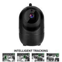 Caméras Multifonctionnel HD 1080P Cloud Caméra IP sans fil Caméra intelligente Suivi automatique de la surveillance de la sécurité Human Home Sécurité CCTV Network WIF