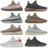 Sneakers Beluga / Crème blanche / Cuivre / Noir Rouge / Noyau rouge / Zebra élevé / teinte bleue Aleby kanye west Chaussures de course hommes femmes avec boite