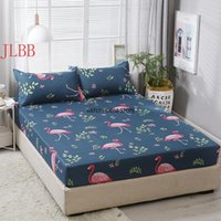 Bedding Sets Fitted Sheet With Elastic 3pcs set Summer Bed Set 200*220cm Home Covers Heart Mattress Cover 100*200cm Bedclothes Feather