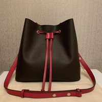 Wallet luxurys designers Lady bags NEONOE Women Bucket Casual Handbags Brand Leather Shoulder Crossbody bag Flower Purses
