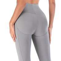 High Waist Shaping Pants Women Yoga Sports Trousers Solid Color Slim Fit Trouser Top Quality Elastic Gym Leggings Designers Sportswear