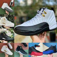 مبيعات 2021 جديد 12S Winterized WNTR رياضة أحمر ميشيغان أحذية كرة السلة رجل الأنفلونزا تاكسي 12 الرجال الرياضة أحذية رياضية مصمم المدربين الأحذية F12
