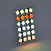 Bellamente moda nueva aleación romántica Pendientes joyas luminosa para mujeres Canal Pendientes de perno 3047 Q2