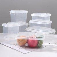 Bouteilles de stockage Bocons de haute qualité Camping Vaisselle Vaisselle Food Flip Couverture Design Pique-nique Snack Bento Boîte Boîte Récipient Prep Prep Lunch Boxes Fwe9392