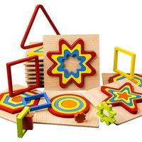 Puzzle di legno Development Intellectual Development Toys Muti-scelta