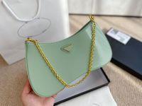 Старший смысл женская сумка на плечо 2021 мода простые сумки для женщин сумки простые цепи полиэстер сотовый телефон карман