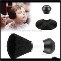Outils de soins Produits Drop Drop Livraison 2021 Elecool Professionnel PROFESSIONNEL Doux Noir Dust Duster Brushes Brosses Cheveux Barber Cheveux Coiffure Salon