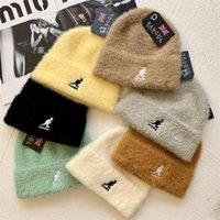 Beanies Damen Beanie gestrickte Hut Winter Warme Baumwolle Acrylkappen Multi Farben Mode Hiphop Hüte Für Männer und Frauen 002