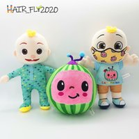Cocomelon Pillow Soft Toys for Baby Plush JJ Doll Educational Stuffed Toys Kids Gift Cute Toy Chritmas Birthday Gift HA21