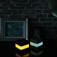 Touch Lamp RGB LED Night Light Home Décor Lamps Atmosphere for Bedroom Hallway DC 5V Lights Internal Battery crestech