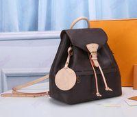 Montsouris Rucksack PM BB Designer Womens Mini Classic Bag Vintage Leder Handtasche Designer Luxurys Kreuzkörper Geldbörse Brieftaschen M45501 M45516