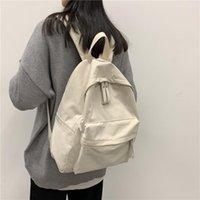Harajuku Japon büyük kapasiteli kolej tarzı sırt çantası unisex çift öğrenci schoolbag