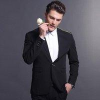 Men's Suits & Blazers Black Business Men Custom Made, Bespoke Classic Wedding For Men, Tailor Made Groom Suit WOOL Tuxedos
