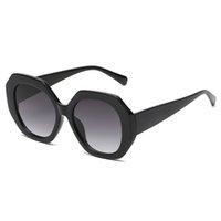 Summer Femme Femme Mode Voyage en plein air Sunglasses irrégulaires Dames Rose Drive Lunettes de soleil Lady Pearl Sunglass Protection plage Clair Lentilles Sunglassse Goggle