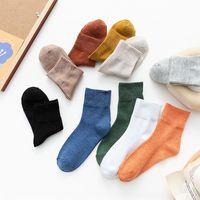 TCY Koreli Çocuklar Versiyonu Sonbahar ve Kış Çorapları için Sürüm Çorap Koreli Çocuk Çocuk Çocuk Çorap Versiyonu Çorap