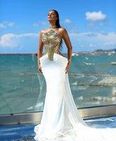 Вечернее платье женское платье Yousef Aljasmi Kim Kardashian Mermaid длинное платье высокое шею русалка белое шифоновое золотое перо перо аппликации Кайли Дженнер Кеенл Дженнер
