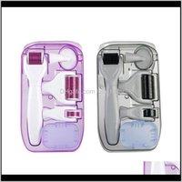 Drop Ship 6 In 1 Derma Kit Titanium Dermaroller Micro Needle Facial For And Body U7Bpg Beauty Zbnsd