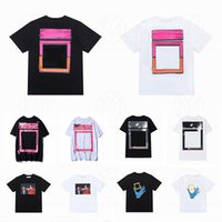 21SS T-shirts T-shirts T-shirts T-shirts Lâche T-shirts Fashion Homme Chemise Casual Luxurys Vêtements Street Short Street Vêtements T-shirts 2021