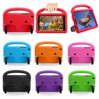 Lightweight EVA Foam Kids Friendly Cases With Handle Kickstand Shockproof Bags For Samsung Tab T110 T230 T290 T377 T380 T387 P200 T290 A7 Lite T220 T307 T510 T500 P610