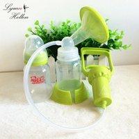 Chupetes # Easy Amening Amamanting Mastizamiento de lactancia materna Bombas manuales BPA Libre Succión Mano Pull AperS Potente Manija Ajustable