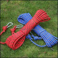 Cordons, came sport extérieurcords, élingues et sangles 10M professionnel de corde d'escalade corde de randonnée de randonnée en plein air aessories diamètre hauteur