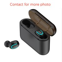 Top quality Q32 Wireless Bluetooth Earphones 5.0 TWS Stereo Sport Running Music Headset HD Call Waterproof Microphone Portable Mini Headphones With Charging Case