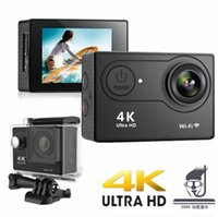 2021 H9 Action Camera Ultra HD 4K 30fps WiFi 2.0-inch 170D Underwater Waterproof Helmet Video Recording Cameras Sport Cam Without SD card