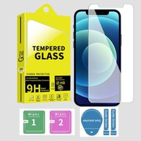 9H 0.3mm 2.5D Tempered glass screen protector for Iphone 6 7 8 x xr 11 12 po max 13 mini pro samsung lg android phone with retail box