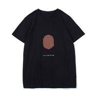 Moda Verão Impressão dos Desenhos Animados T Camiseta Juventude Casual Rodada Pescoço Mangas Curtas Tamanho Asiático Homens Mulheres Top Quality Tees Tees Pólos M-2XL