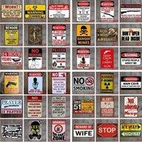 Metal Lata Sinais Sinclair Motor Óleo Texaco Poster Home Bar Decoração Da Arte de Parede Fotos Vintage Garagem Sinal Homem Caverna Retro Sinais Mar Navio DWD6332