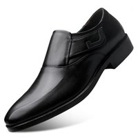 Male Casual Leather Shoes Luxury Business Oxford Formal Wedding Party Office Men Dress Zapatos1