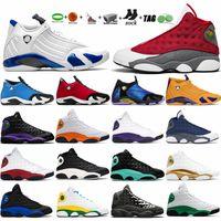 14 14s sapatos de basquete doernbecher hyper ginásio real ginásio vermelho sneakers jumpman 13 13s Pontar campo de jogos roxo DMP Chicago Starfish 6 6s Unc Sports Treinadores
